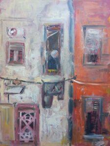 Roberta Sangiorgi – Impressioni dal cortile