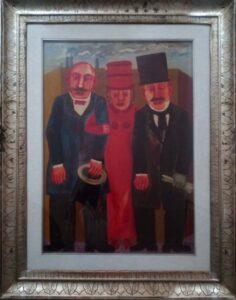 Franz Borghese – Personaggi