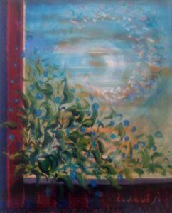 Felice Ludovisi – Finestra in fiore