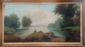 Brocchino – Paesaggio con lago