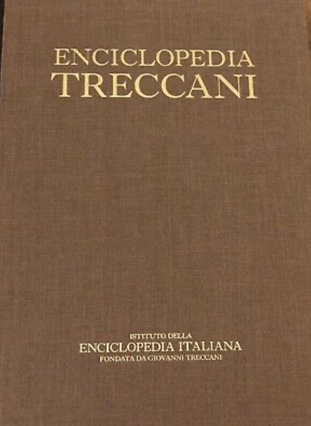 Enciclopedia Italiana Treccani
