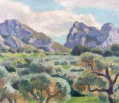 Wilhelm Gimmi – Les oliviers a ST Remy en Provence