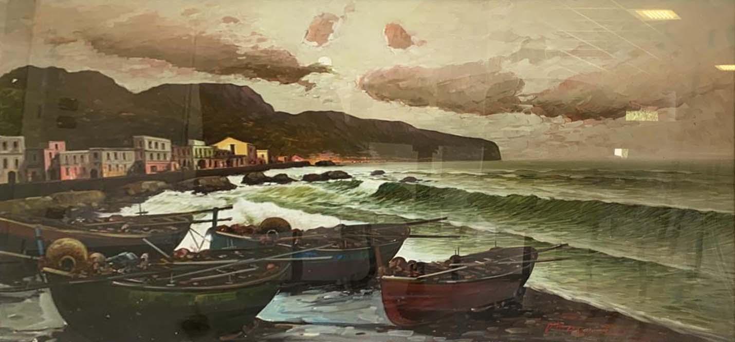 Vittorio Colucci – Tramonto sul mare