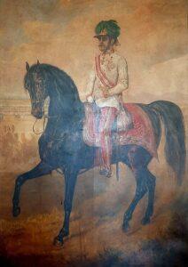 Sante Barelli – Ufficiale a cavallo