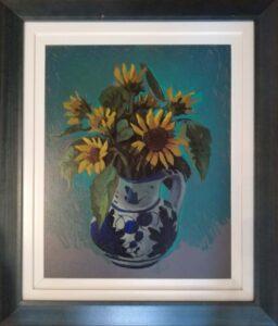 Enrico Maioli – Vaso di girasoli