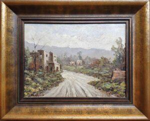 Augusto Radice – Paesaggio di campagna