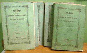 Briefe Alexander von Humboldt – Kosmos
