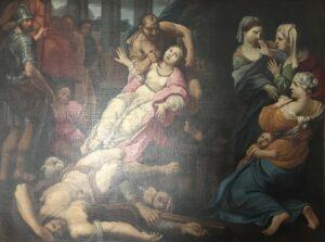 Scuola francese del XVIII secolo – Scena di martirio