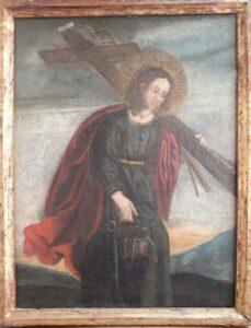 Artista sconosciuto – Cristo con gli strumenti della Passione