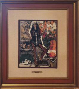 Michele Cascella – Ragazza liberty