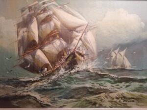 Herman Conrad – Battaglia navale