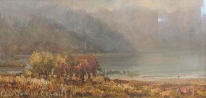 Aristodemo Capecchi – Foschia sul lago Maggiore