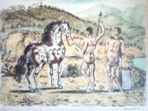 Giorgio De Chirico – I dioscuri