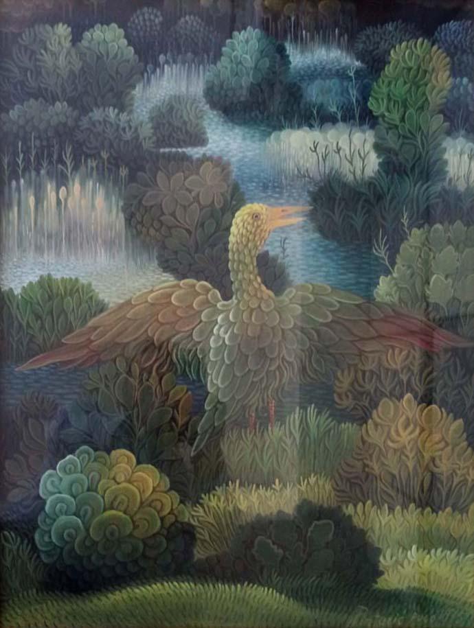 Josip Pintaric –  Uccello della palude