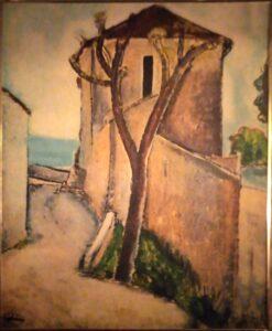 Artista sconosciuto – Casale sul mare