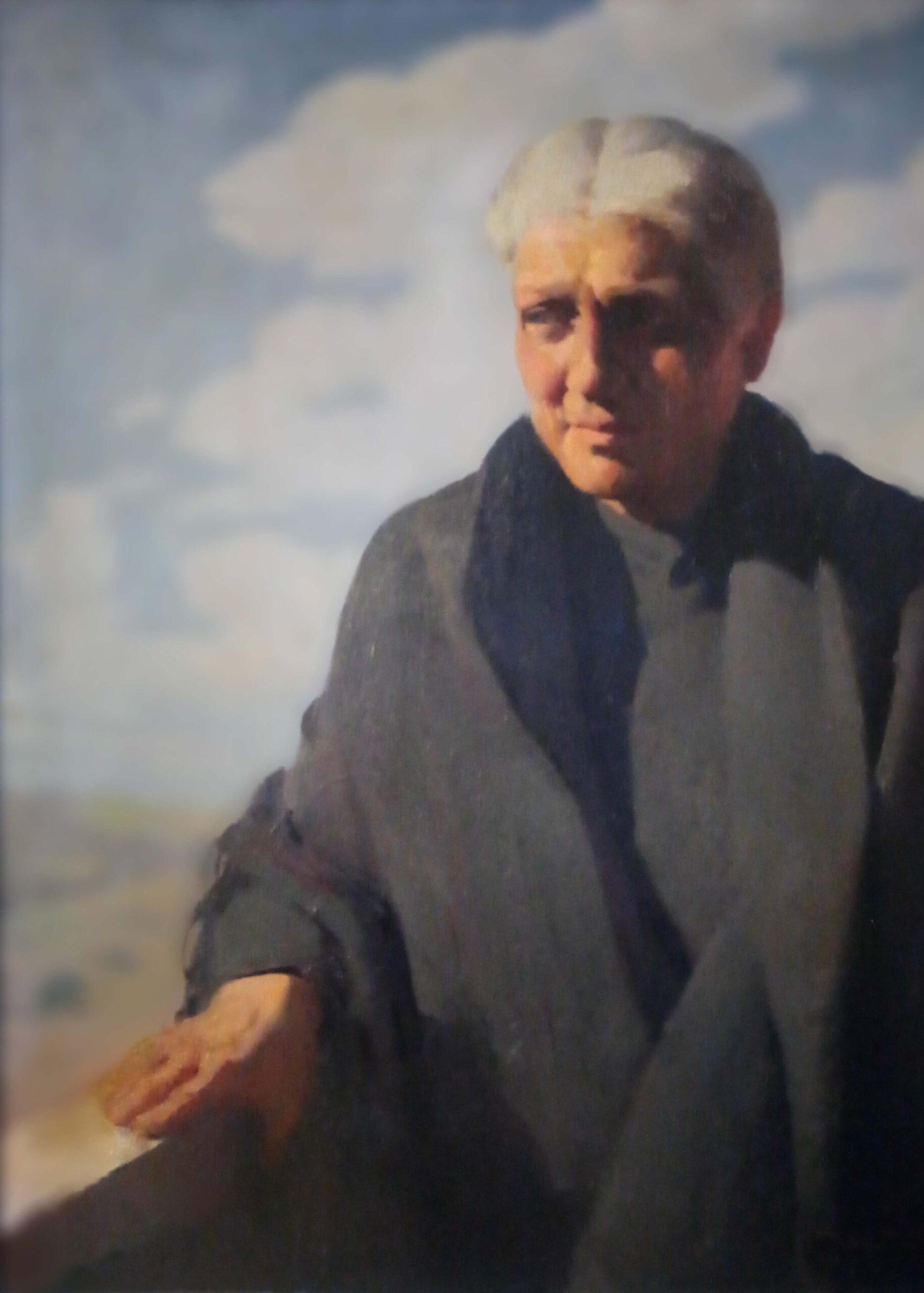 Tullio Alemanni – Ritratto di anziana