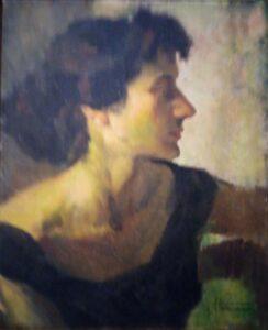 Tullio Alemanni – Ritratto di Maria