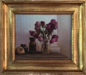 Luigi Doni – Natura morta con fiori e conchiglie