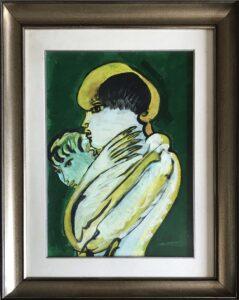 Remo Brindisi – Madonna con bambino