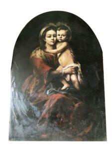 Madonna con bambino – Anonimo