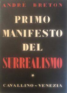 Manifesto del surrealismo – André Breton