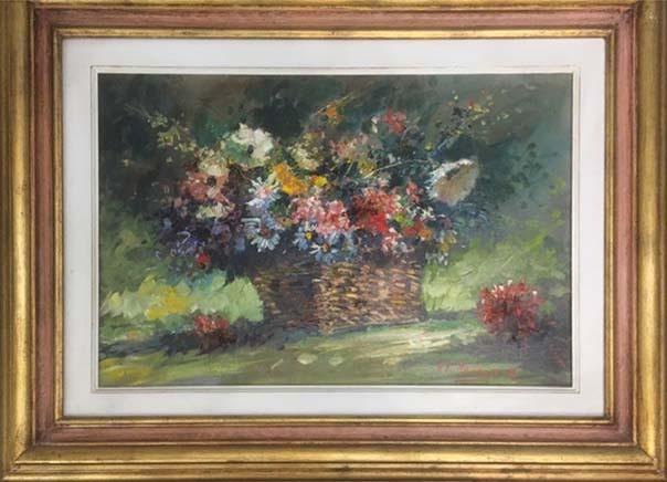 Norberto Martini – Cesto di fiori