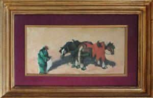 Francesco Di Cocco – Cavalli bardati