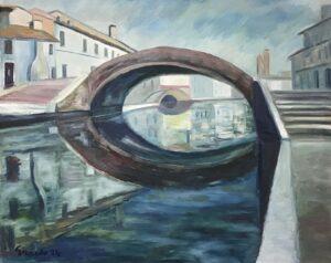 Erminio Girardo – Mattino a Comacchio