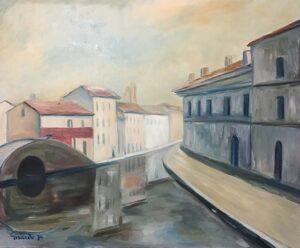 Erminio Girardo – Case e ponti a Comacchio
