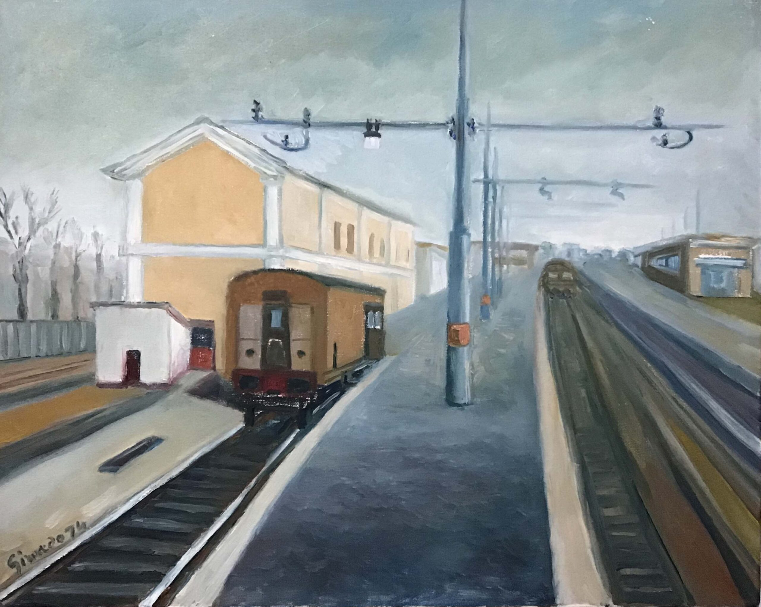 Erminio Girardo – Stazione di Civitanova