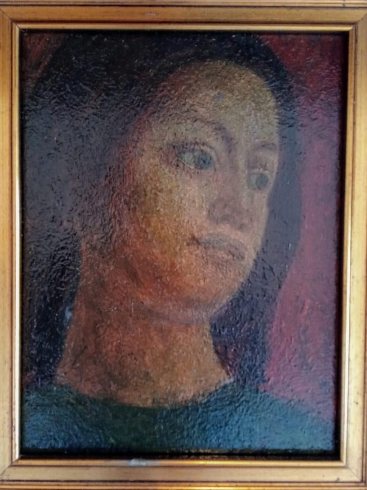 Elio Mazzella – Volto di giovane donna