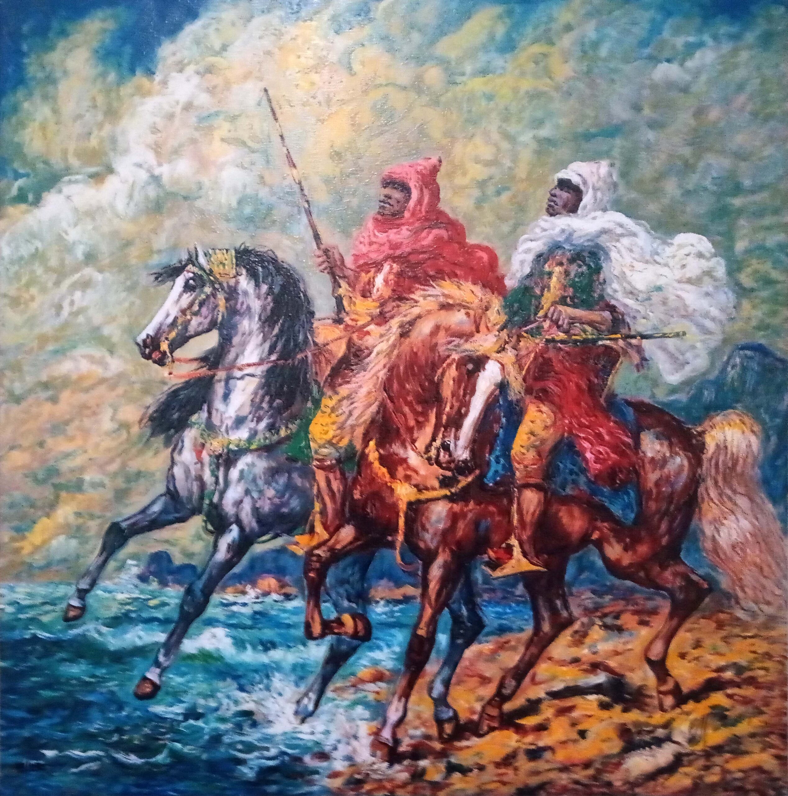 Giovan Francesco Gonzaga – Cavalieri orientali