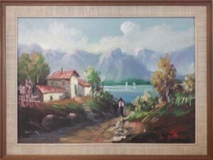 Domenico Cantatore – Paesaggio
