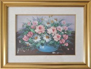Lina Rossi – Vaso con fiori