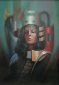 Ezio Farinelli – Volto di donna