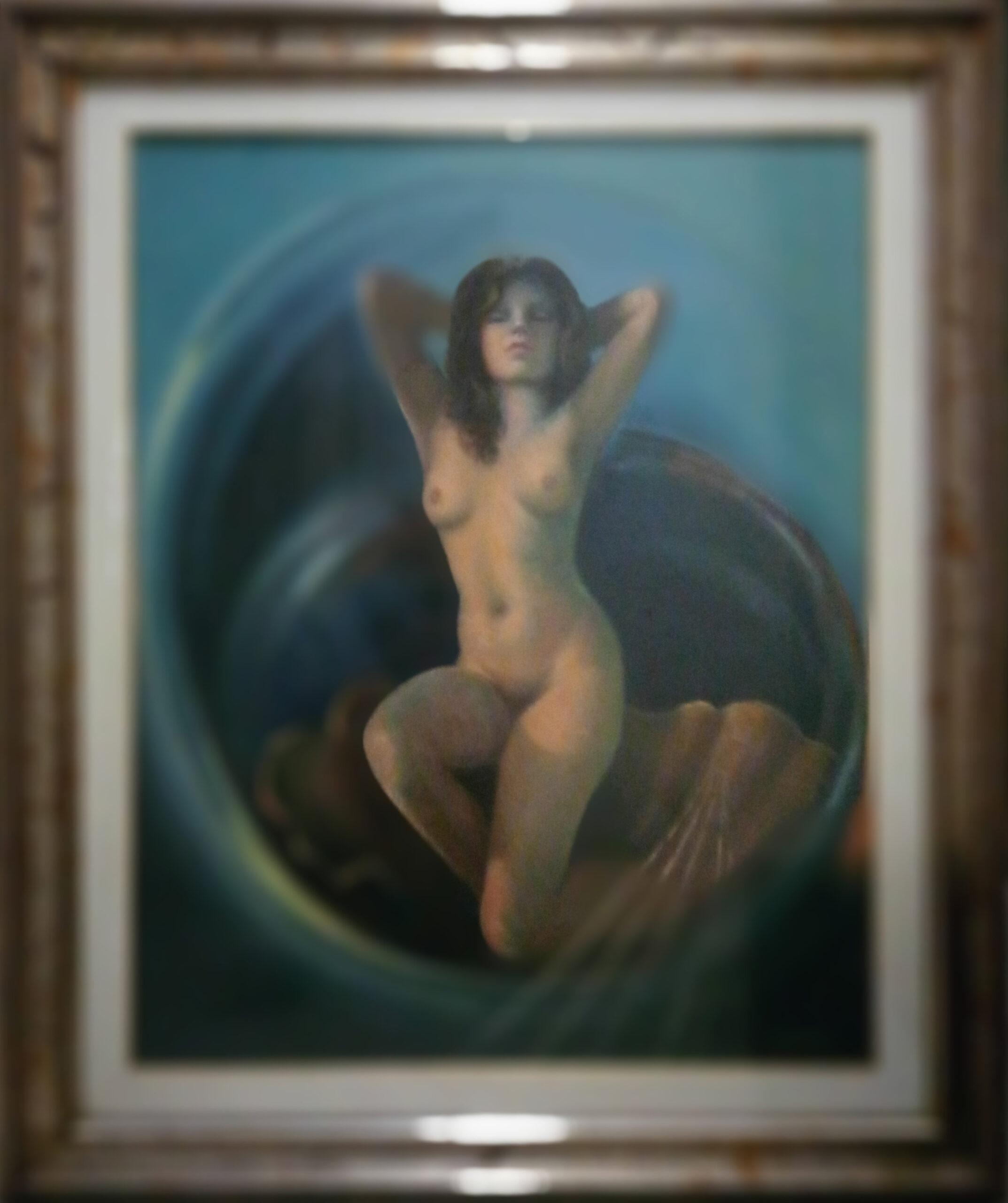 Ezio Farinelli – Nudo di donna