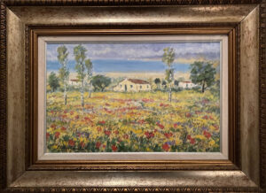 Michele Cascella – Campo di fiori