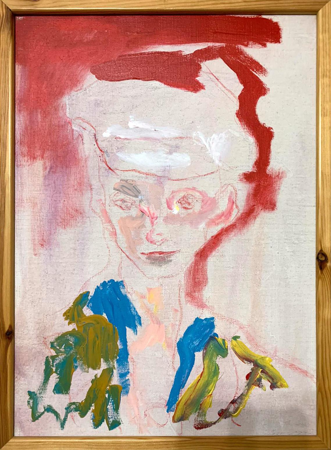 Ernesto Treccani – Volto di donna