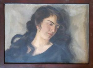 Matilde Bettio – Donna con capelli lunghi e castani