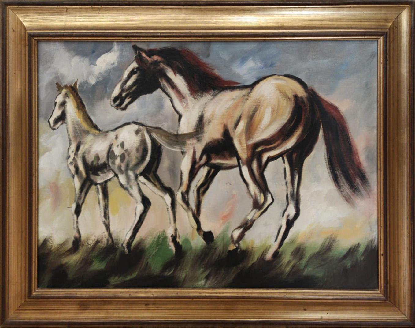 Noel Quintavalle – Cavalli al galoppo