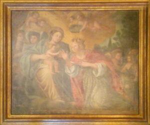 Artista Sconosciuto – Matrimonio mistico di Santa Caterina