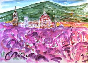 Mara Corfini – Colori su Firenze