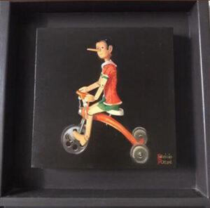 Fabrizio D'Ottavi – Pinocchio sul triciclo