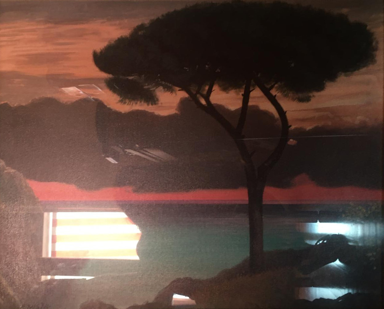 Enzo Nistri – Tramonto sull'isola
