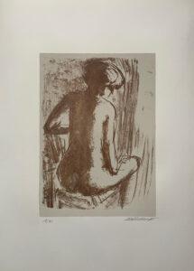 Matti Haupt – Nudo muliebre