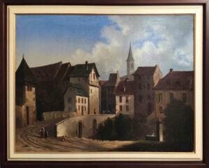 Karl Weysser – Veduta cittadina tedesca