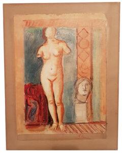Achille Funi – Studio di nudo