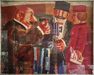 Franz Borghese – Olio su tela