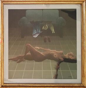 Alberto Cavallari – Nudo sul pavimento