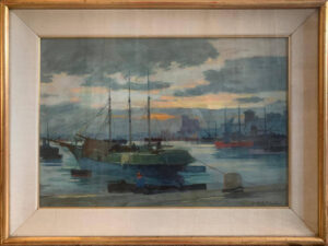 Renato Natali – Sera al porto